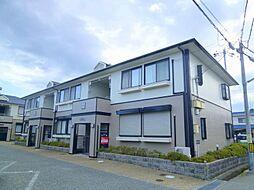 兵庫県宝塚市鹿塩2丁目の賃貸アパートの外観