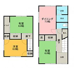 [一戸建] 広島県広島市西区己斐西町 の賃貸【/】の間取り
