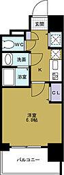 セオリー大阪ベイステージ[2階]の間取り