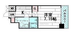 セレニテ江坂1番館[6階]の間取り