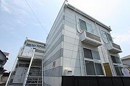 広島県福山市久松台3丁目の賃貸アパートの外観