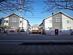 埼玉県川口市南鳩ヶ谷4丁目の賃貸アパートの外観