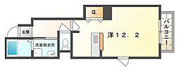 ローザアルベロA・B棟[1階]の間取り