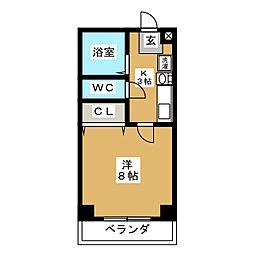 パールマンションV[2階]の間取り