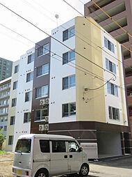 北海道札幌市中央区南十五条西1丁目の賃貸マンションの外観