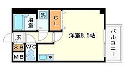 Sフルール[1階]の間取り