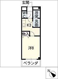 ブランシェ A棟[1階]の間取り