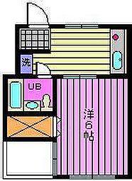 プリエールマンション[3-A号室]の間取り