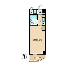 ジョイフル立花III[2階]の間取り