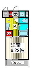 リヴシティ西川口[7階]の間取り