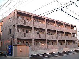 栃木県宇都宮市簗瀬町の賃貸マンションの外観