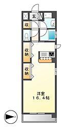 エピュレ[2階]の間取り