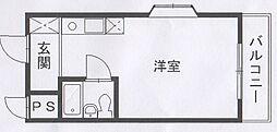 田町Mikiビューティースクエアビル[502号室]の間取り