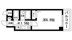 フローラ愛宕山[102号室]の間取り