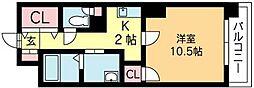 北海道札幌市北区北十条西1丁目の賃貸マンションの間取り