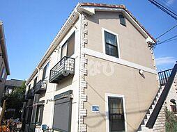 東京都江戸川区東小岩4丁目の賃貸アパートの外観