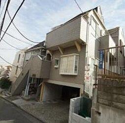 東京都渋谷区代々木4丁目の賃貸アパートの外観