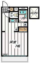 埼玉県戸田市下戸田2丁目の賃貸マンションの間取り