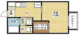 マンハイムII[2階]の間取り