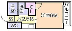 グレイス篠山[2階]の間取り