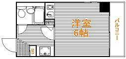 東京都豊島区高田2の賃貸マンションの間取り