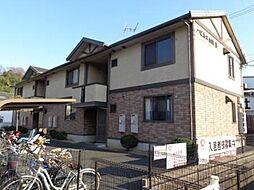 広島県福山市東手城町4丁目の賃貸アパートの外観