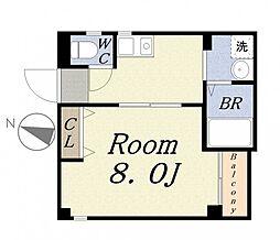 フレンズハウス[4階]の間取り