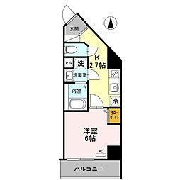 プリメーロ66[5階]の間取り