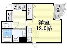 スピカコート[5階]の間取り