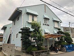 大阪府高槻市今城町の賃貸アパートの外観