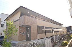 兵庫県姫路市飾磨区中島1の賃貸アパートの外観