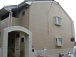 千葉県市川市南八幡の賃貸アパートの外観