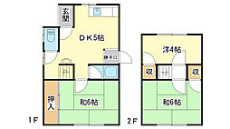 [一戸建] 兵庫県姫路市東今宿6丁目 の賃貸【/】の間取り