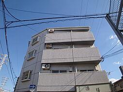 大阪府大阪市東淀川区豊新3の賃貸マンションの外観