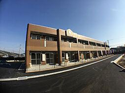 鹿児島県霧島市国分野口西の賃貸アパートの外観