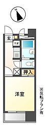 兵庫県姫路市佃町の賃貸マンションの間取り