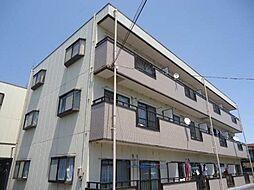 東京都日野市栄町2丁目の賃貸マンションの外観