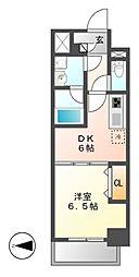 MEIBOU TESERA(メイボーテセラ)[4階]の間取り