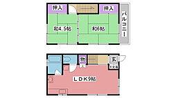 [テラスハウス] 兵庫県西宮市浜甲子園1丁目 の賃貸【兵庫県 / 西宮市】の間取り