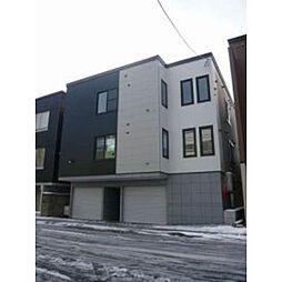 北海道札幌市北区新川二条7丁目の賃貸アパートの外観