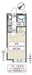 フルーヴ23[1階]の間取り
