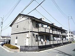 長野県松本市村井町北1丁目の賃貸アパートの外観