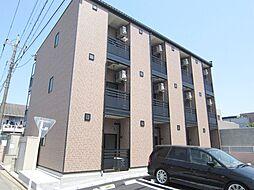 埼玉県川口市東領家3丁目の賃貸マンションの外観