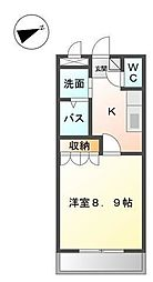 パル・川成[105号室]の間取り