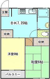 久里浜SKビル[3階]の間取り