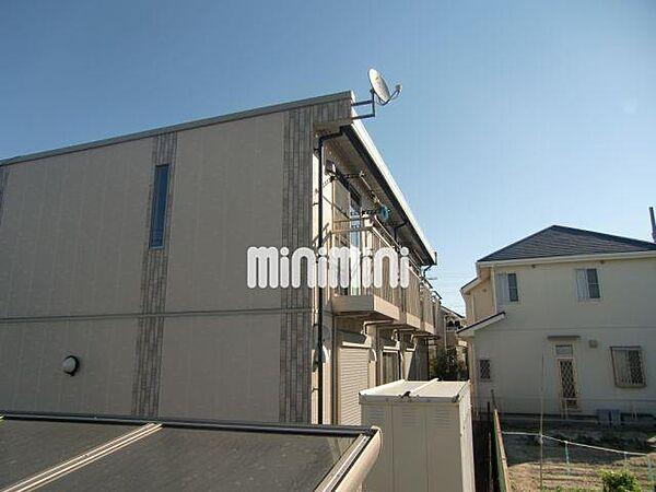 サニーハイツ有松 B棟[1階]の外観