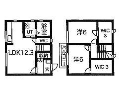 [テラスハウス] 東京都町田市木曽西4丁目 の賃貸【/】の間取り