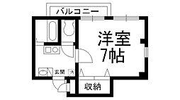Uro桜木町D[0304号室]の間取り