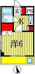 マリア・デル・ソーレII[2階]の間取り