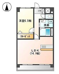 エクセレント21[5階]の間取り